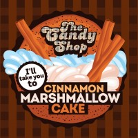 The Candy Shop - Cinnamon Marshmallow Cake 10ml