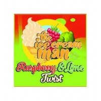 Raspberry and LIme Twist 30ml The Ice Cream Man